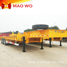 Heavy Machine 3 Axle 60 Ton Lowbed Trailer